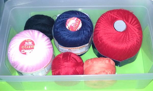 cotone fino colorato